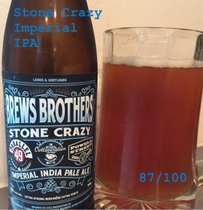Stone Crazy - Imperial IPA