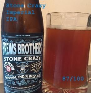 Stone Crazy - Imperial IPA