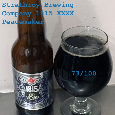 Beer 4 - Strathroy Brewing Company - 1815 XXXX Peacemaker