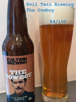 Day 13 - Evil Twin Brewing - The Cowboy Smoke Pilsner