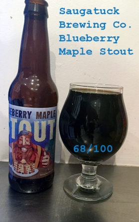 Day 14 - Saugatuck Brewing Company - Blueberry Maple Stout