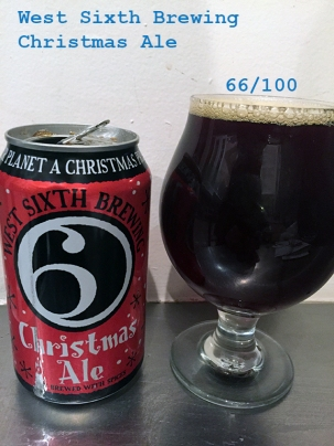 Day 15 - West Sixth Brewing - Christmas Ale