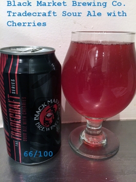 Day 17 - Black Market Brewing Co - Tradecraft Sour Ale with Cherries