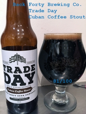 Day 19 - Back Forty Brewing Company - Cuban Coffee Stout