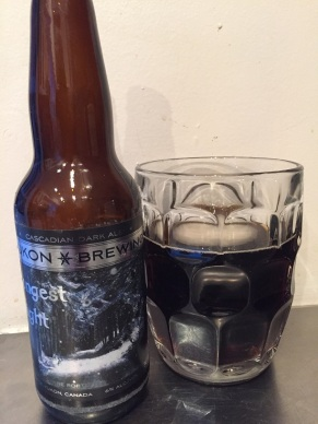 Day 22 - Yukon Brewing - Longest Night Cascadian Dark Ale