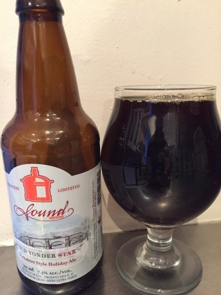 Day 23 - Sound Brewery - Yonder Star English Strong Ale