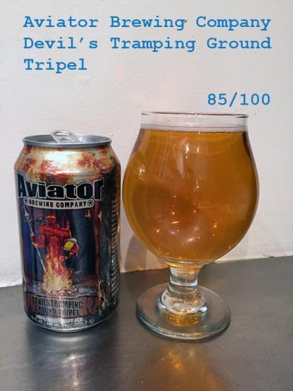 Day 5 - Aviator Brewing Company - Devils Tramping Ground Tripel