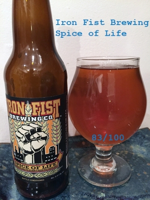 Day 9 - Iron Fist Brewing Company - Spice of Life