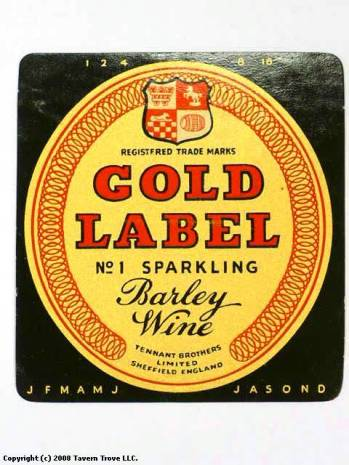 Gold-Label-No1-Barley-Wine-Labels-Tennant-Brothers-Exchange-Brewery-Ltd_39261-1