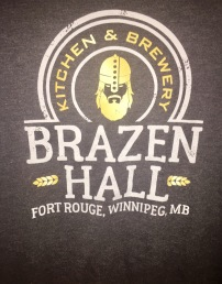 Brazen Hall Tshirt Front