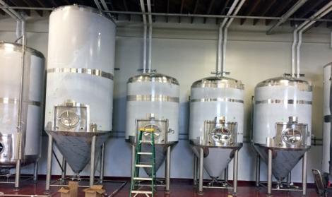 Torque Brewery - Tanks