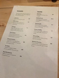 One Great City Menu 2