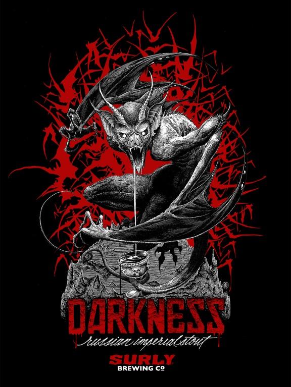 "Képtalálat a következőre: ""Darkness – Surly Brewing company"""
